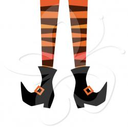 Legs clipart wicked witch