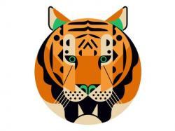 Legz clipart tiger