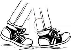Legz clipart walking foot