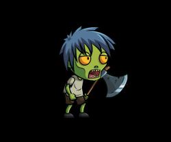Legz clipart zombie