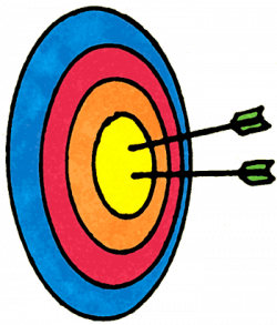 Target clipart kid archery