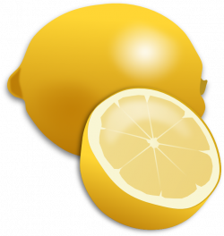 Citrus clipart cartoon