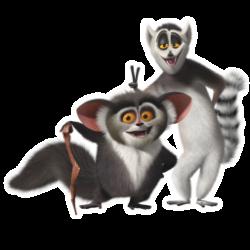 Lemur clipart king julian