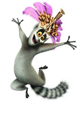 Lemur clipart madagascar movie