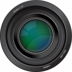 Dslr clipart camera lens
