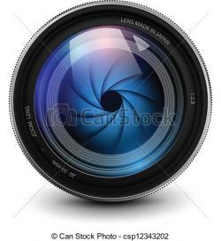 Lens clipart camera lens