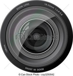 Lens clipart camera lense