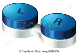 Lens clipart contact lens