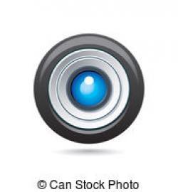 Lens clipart dslr