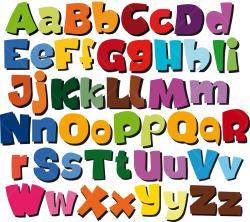 Lettering clipart alphabet