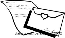 Letter clipart black and white