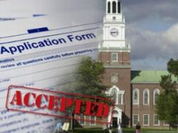Letter clipart college admission