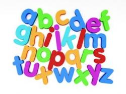 Letter clipart early literacy