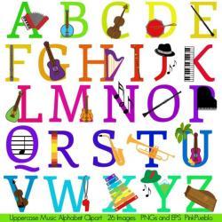 Typeface clipart kid alphabet