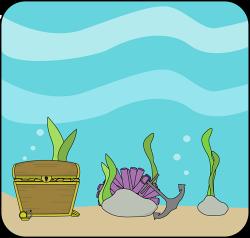 Marine Life clipart ocean theme