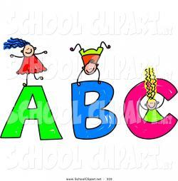 Letter clipart preschool