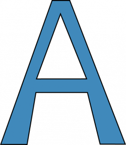 Blur clipart alphabet
