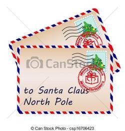 Letter clipart santa clipart