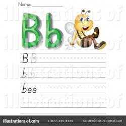 Letter clipart worksheet