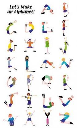 Letter clipart yoga