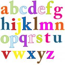 Letter clipart alphabet