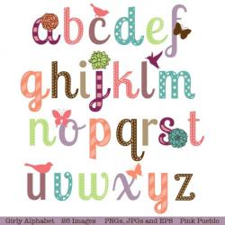 Typeface clipart cute