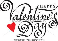 Lettering clipart valentine