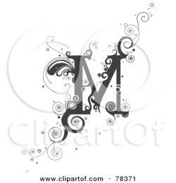 Lettering clipart vine