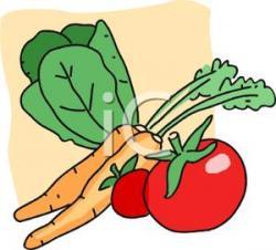 Carrot clipart lettuce