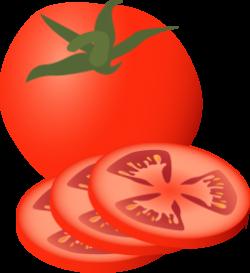 Lettuce clipart tomato slice