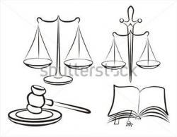 Libra clipart court hammer