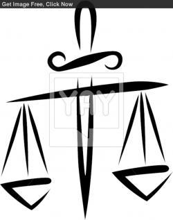 Libra clipart criminal justice