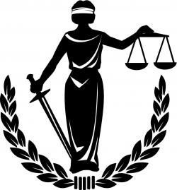 Scale clipart blind justice