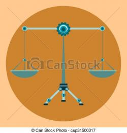 Libra clipart law symbol