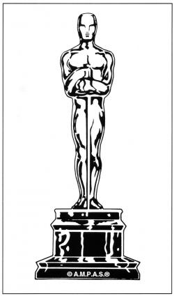Oscar clipart oscar award