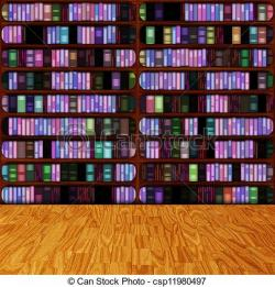 Library clipart background
