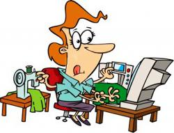 Amonday clipart busy