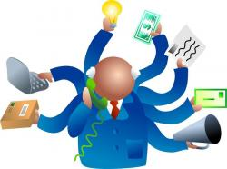 Software clipart project manager