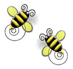 Wasp clipart spring