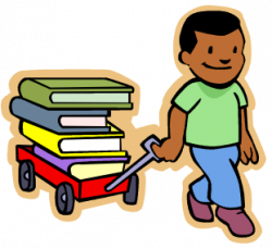 Stories clipart kid book