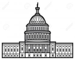 White House clipart capitol dome
