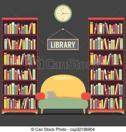 Library clipart empty