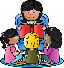 Stories clipart kindergarten teacher