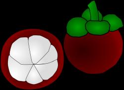 Pomegranate clipart mangosteen