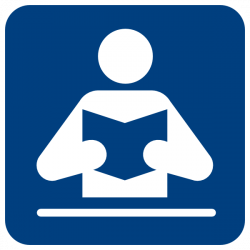 Library clipart logo