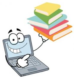 Technology clipart computer exam