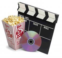 Popcorn clipart dvd