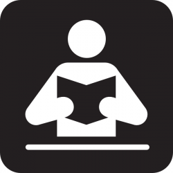 Library clipart pictogram