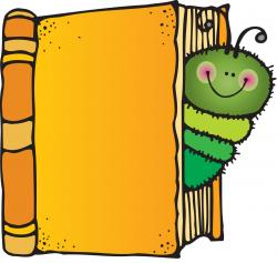 Worm clipart children's book