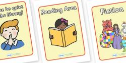 Stories clipart reading corner